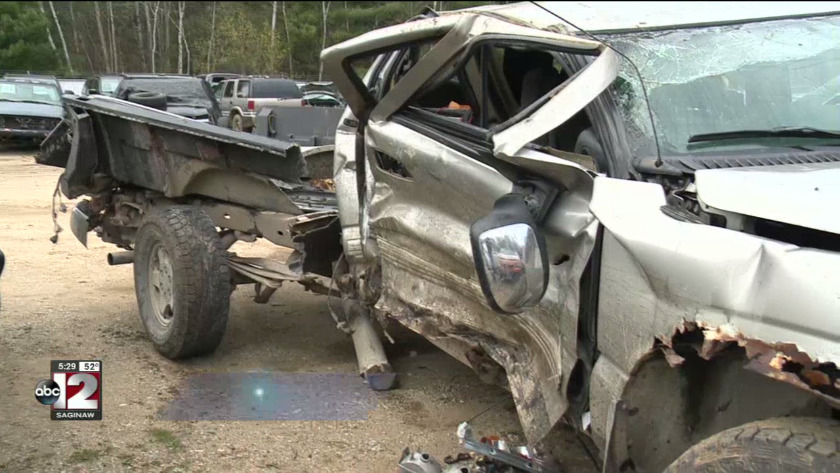 Deputies searching for driver who caused serious crash