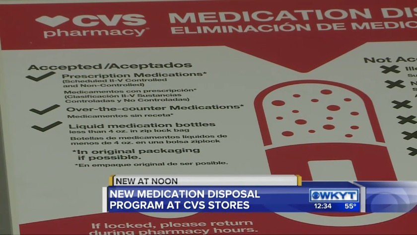 beshear cvs announce new medication disposal program