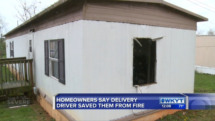 Donatos Pizza delivery driver credited with saving Pulaski County