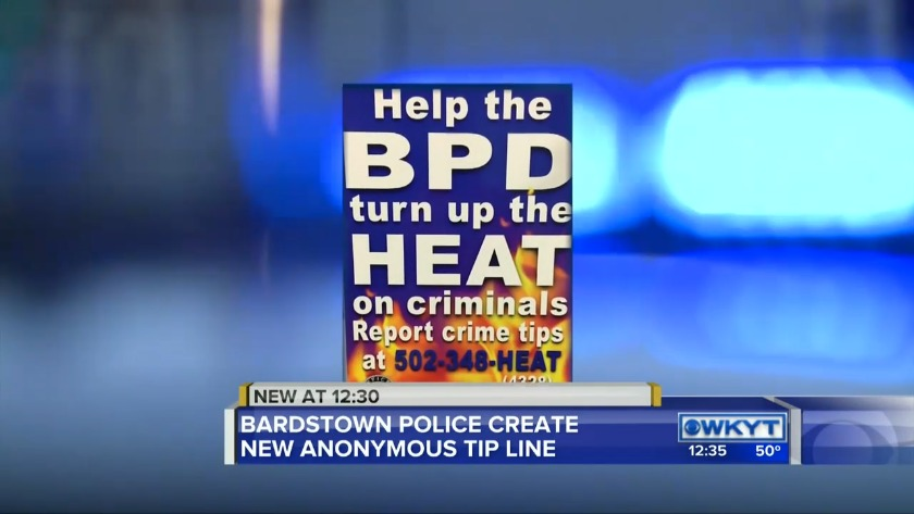 WATCH Bardstown police create a new anonymous tip line