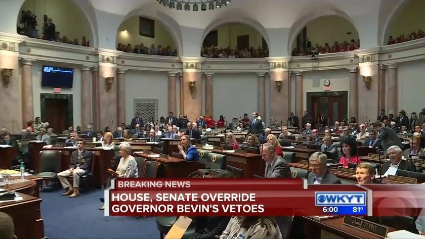 kentucky legislature votes to override governor s budget tax