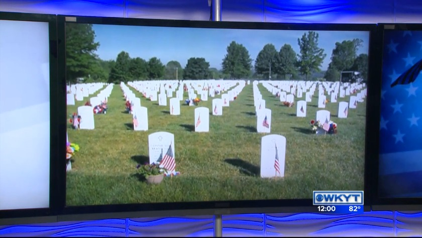 8580ba3a3ff WATCH Memorial Day at Camp Nelson National Cemetery