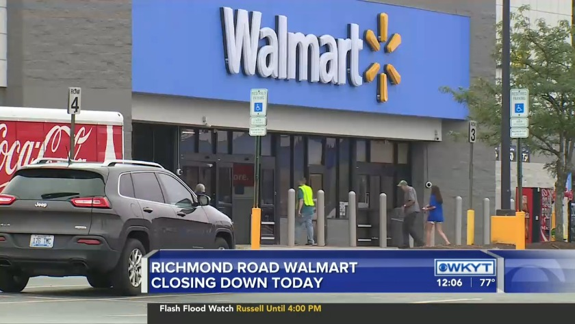 WATCH Richmond Road Walmart closing down Friday