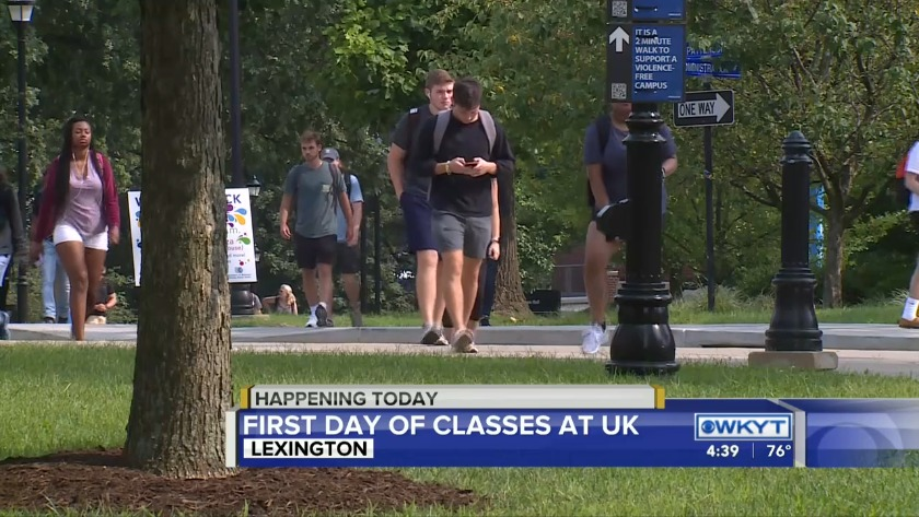 classes starting at the university of kentucky