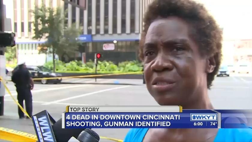 Police identify gunman killed in downtown Cincinnati shooting