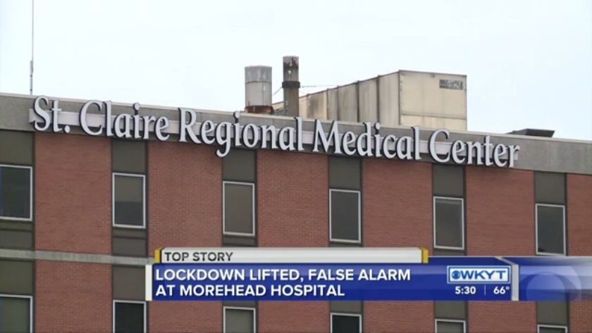 Police No Shooting After Report Puts Morehead Hospital Briefly On