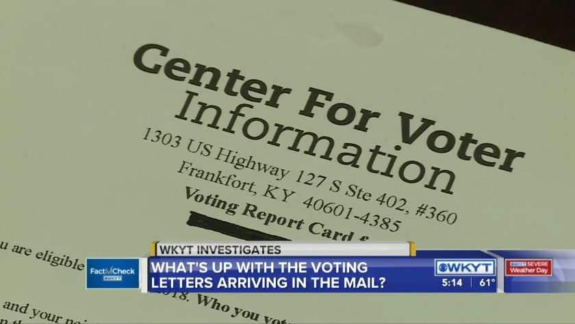 Fact Check | Are hackers behind those voting letters in your mailbox?