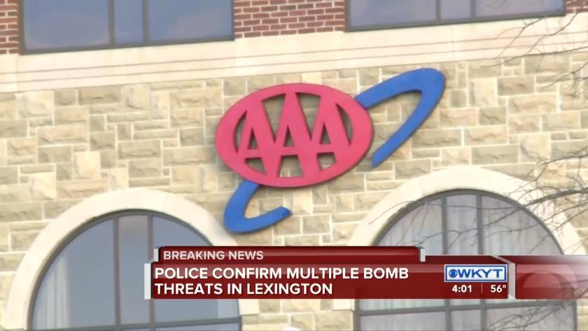 Lexington police respond to 'multiple bomb threats' in city