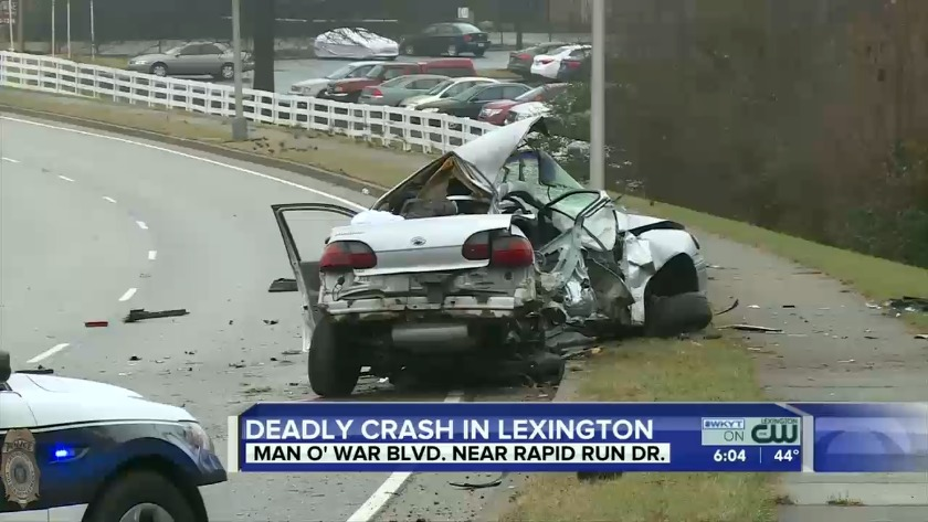 WATCH One person killed in deadly Lexington crash
