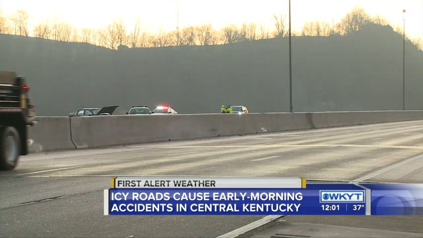 Lanes reopen on Interstate 75 in Lexington following wreck