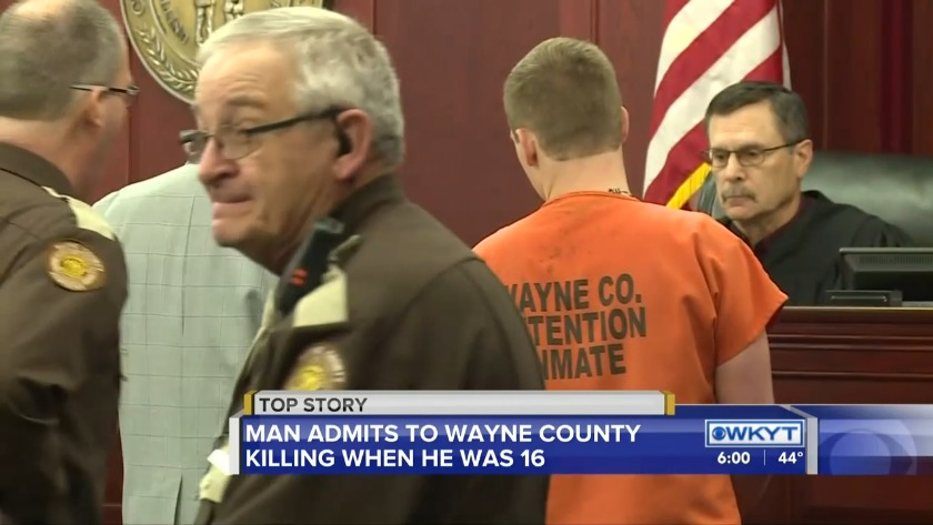 Man admits to Wayne County killing when he was 16