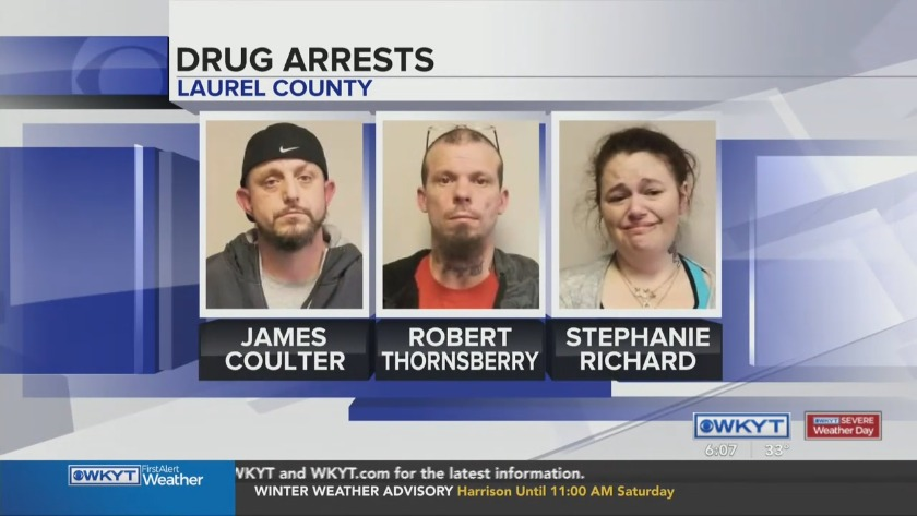 WATCH Two pounds of crystal meth seized in Laurel Co  drug bust