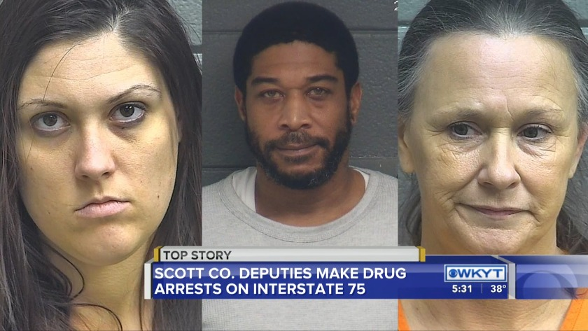 WATCH Patrol arrests highlight drug activity along I-75 in Scott County