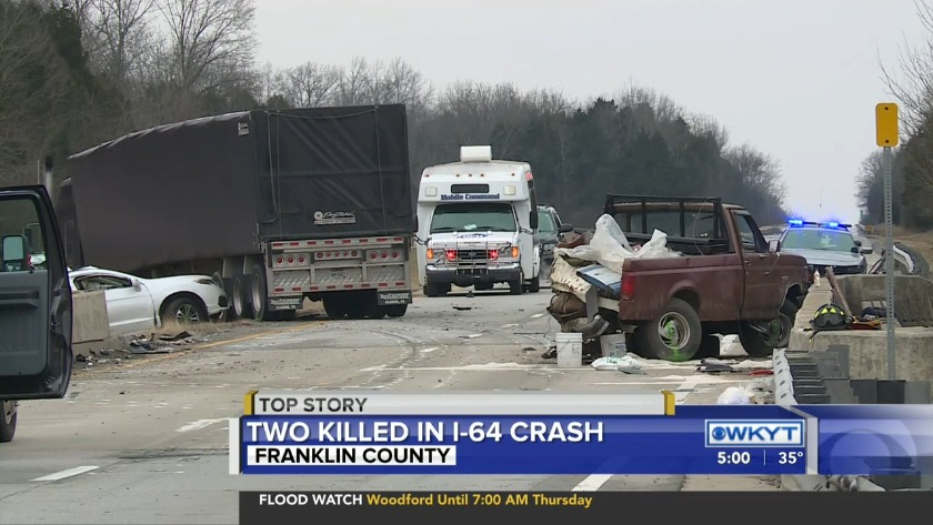 WATCH Interstate 64 reopens in Franklin County following deadly wreck