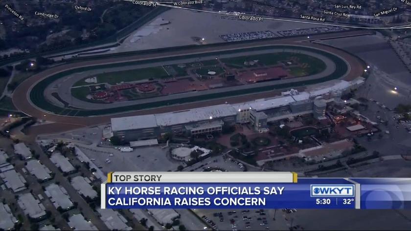 WATCH Santa Anita suspends racing after rash of horse deaths