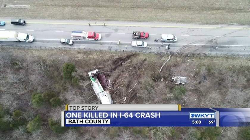 Name of victim in crash on I-64 in Bath County released