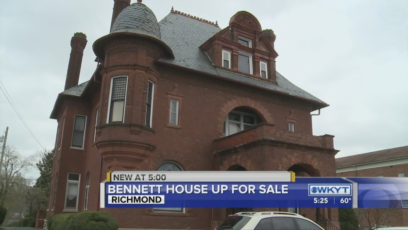 Richmond's historic Bennett House is up for sale