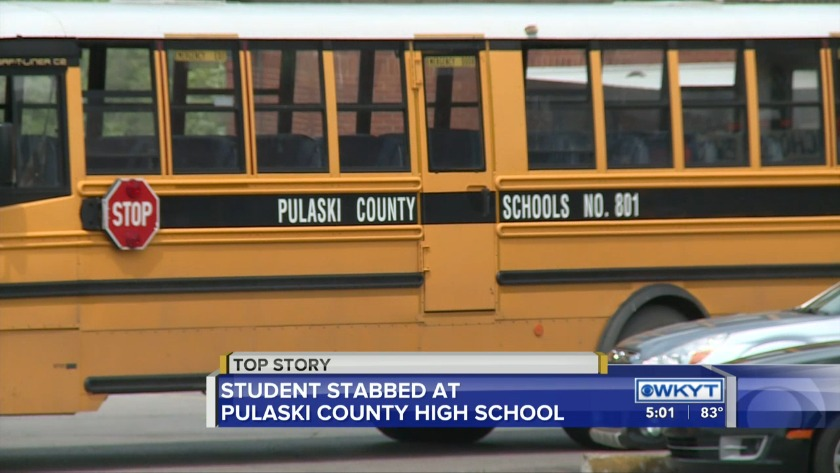 WATCH Witness: Pulaski high school stabbing caused by fight over