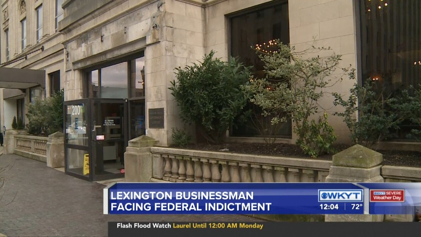 WATCH Lexington businessman indicted for lying about donations
