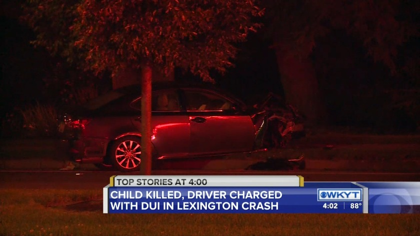 WATCH Child identified in deadly Lexington crash, driver
