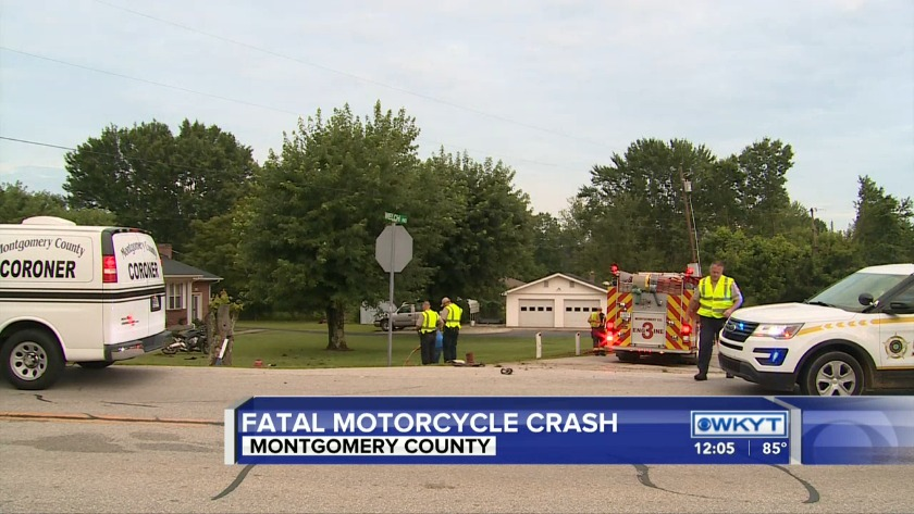 Victim identified in deadly Montgomery County motorcycle crash