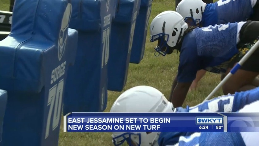 WATCH: East Jessamine has a new turf and new outlook for the season