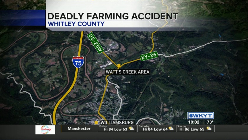 WATCH Man killed in Whitley County farming accident identified