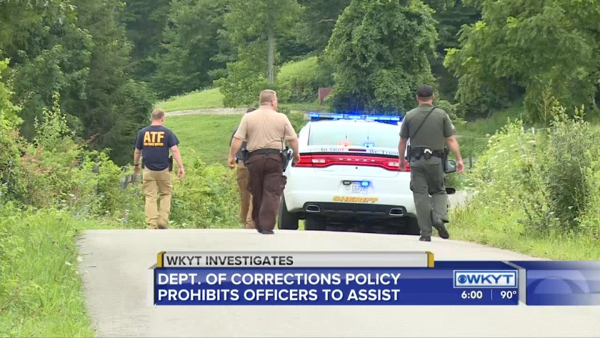 Probation, parole officers not allowed to assist McCreary County