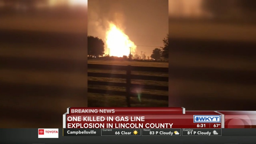 Victim identified following massive gas pipeline explosion