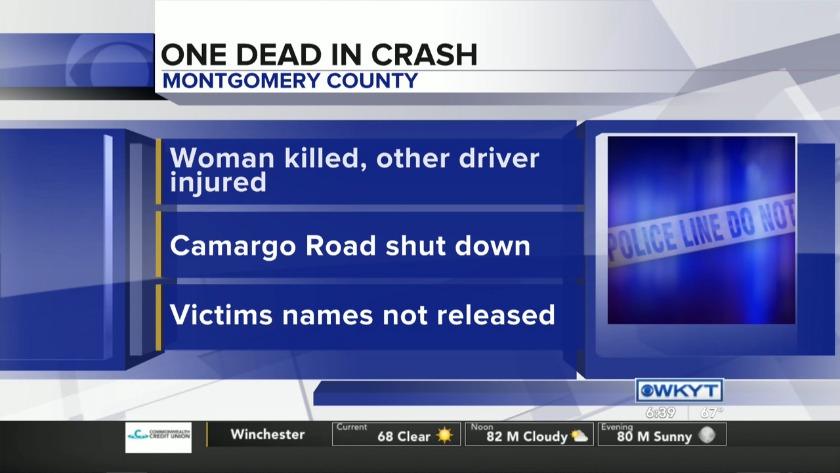 WATCH Coroner: Woman killed in Montgomery County crash