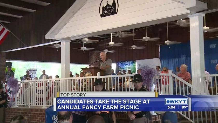 WATCH Fancy Farm - Kentucky's premier political event
