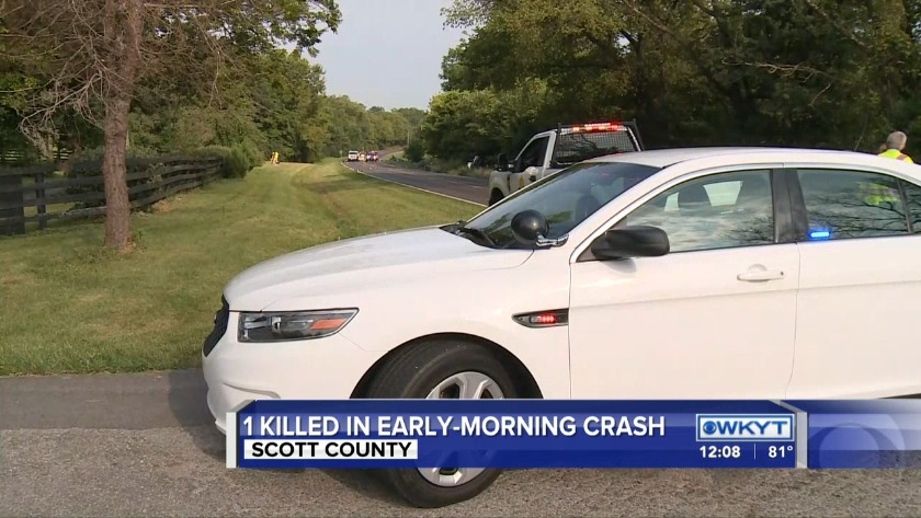 WATCH Kentucky State Police: 2 killed in Interstate 64 crash