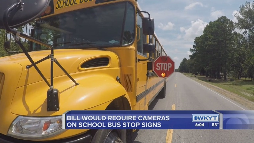Prefiled bill looks to require school bus stop sign cameras