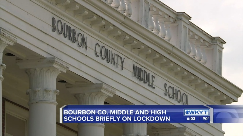 WATCH Principal: Lockdown lifted at Bourbon County middle