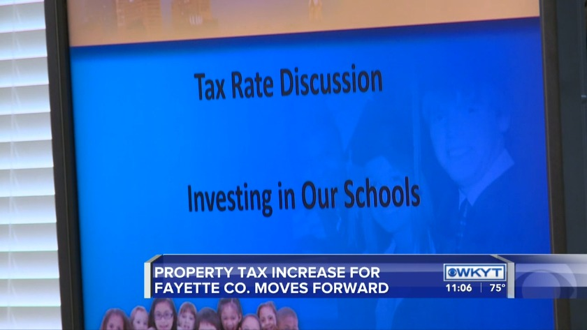WATCH Proposed Lexington property tax increase moves forward