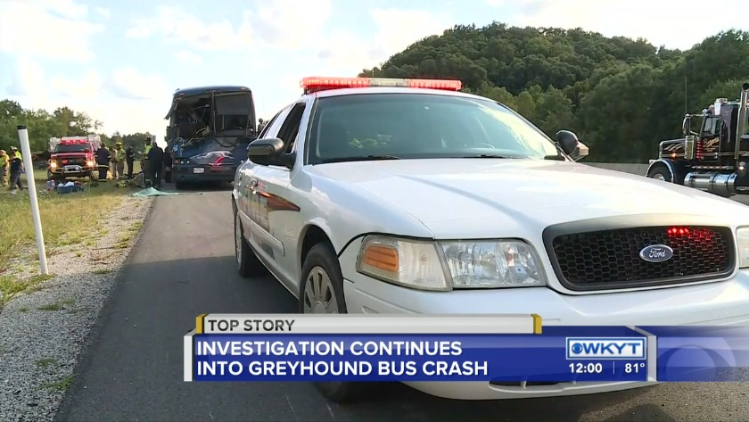 Kentucky State Police investigating allegations Greyhound