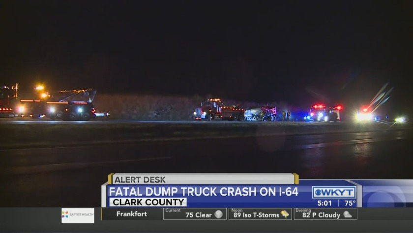 WATCH: I-64 in Clark County reopened following fatal crash