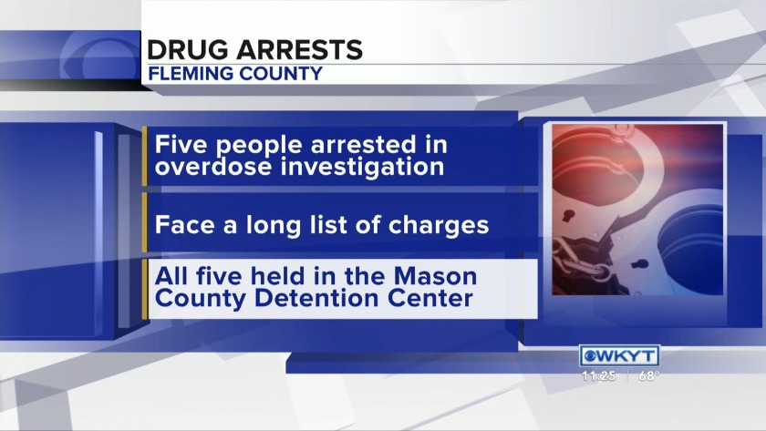 WATCH Fleming County overdose deaths lead to several arrests