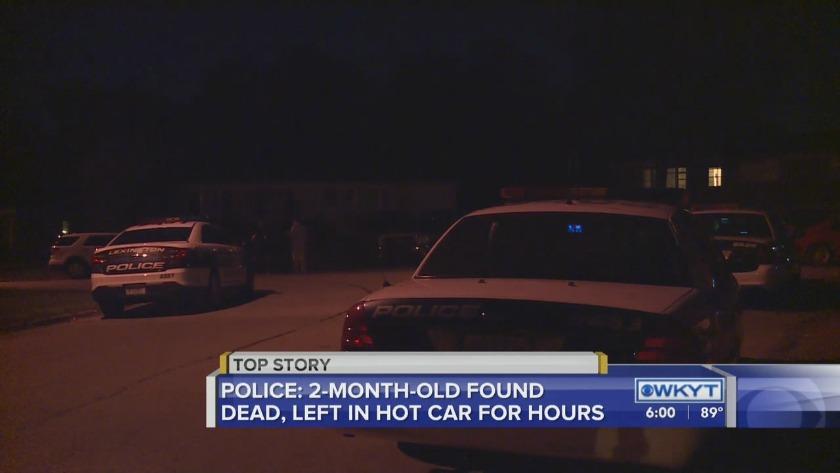 WATCH Police: Newborn boy found dead was left in hot car for