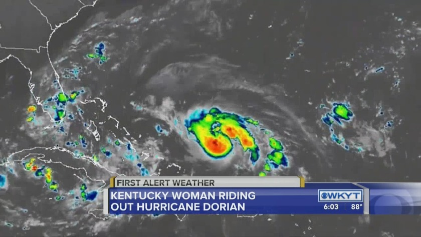 WATCH KY native living in Fla  prepares as Hurricane approaches