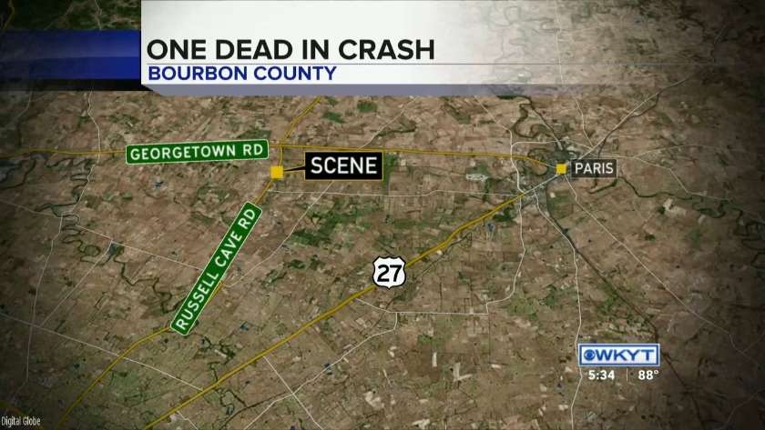 WATCH Coroner identifies man killed in Bourbon County crash
