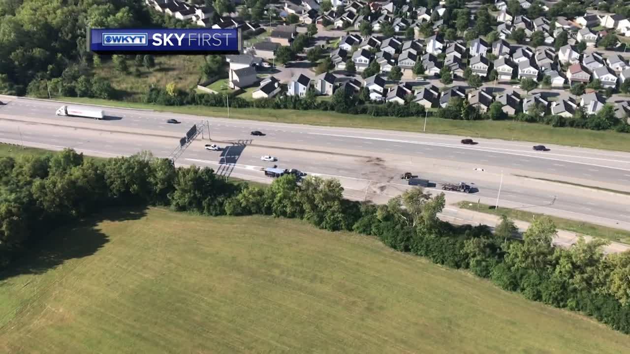 WATCH SkyFirst aerials of deadly Interstate 75 crash in