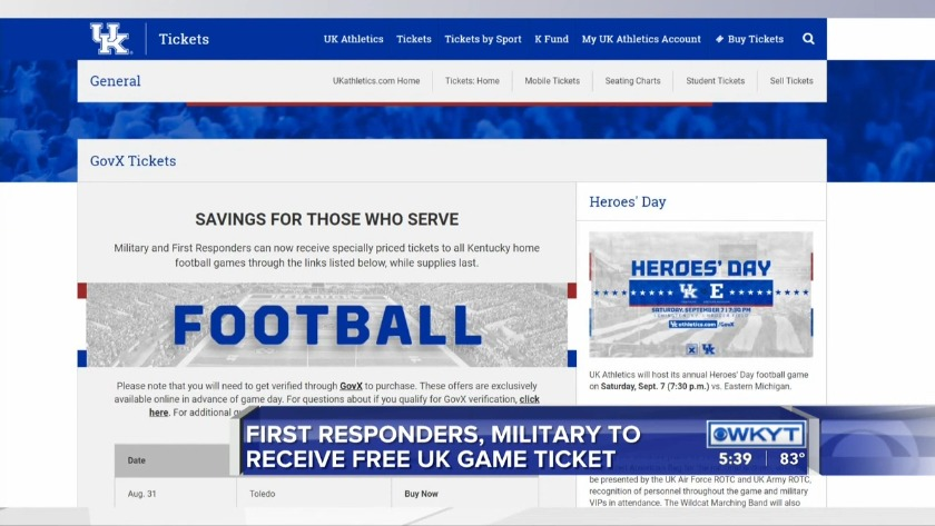 WATCH Heroes Day Saturday