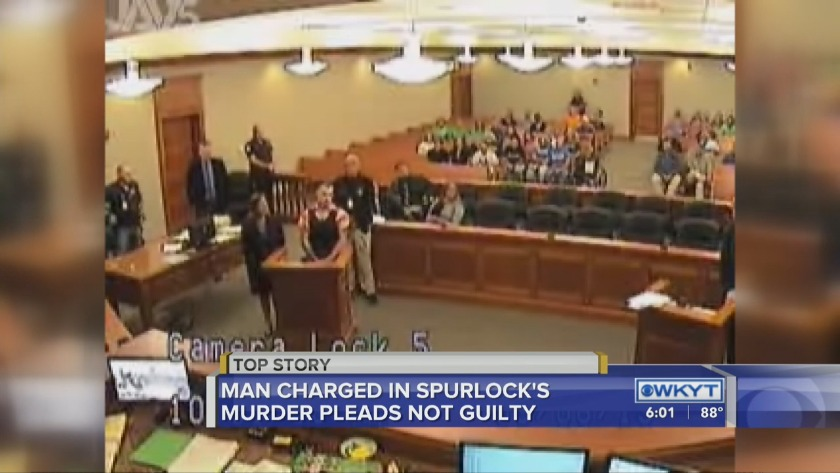 WATCH Not guilty plea entered for murder suspect in Savannah