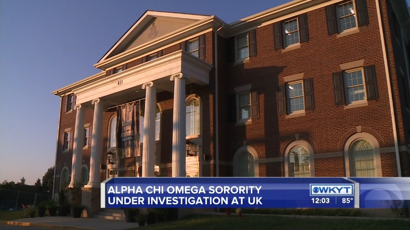 WATCH University of Kentucky investigating Alpha Chi Omega
