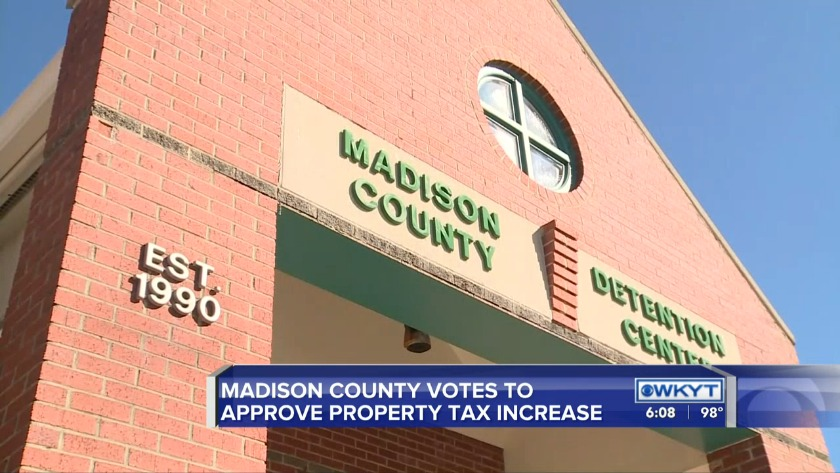 WATCH Madison Co  Fiscal Court votes to raise property tax