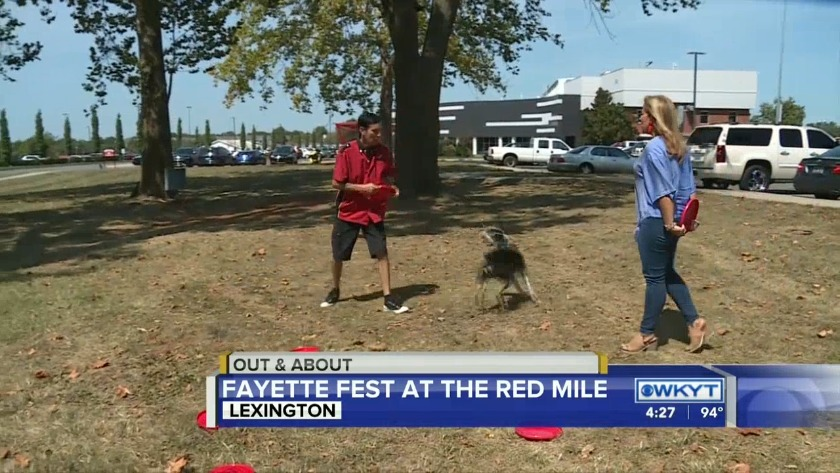 WATCH Out & About - Fayette Fest at the Red Mile(September