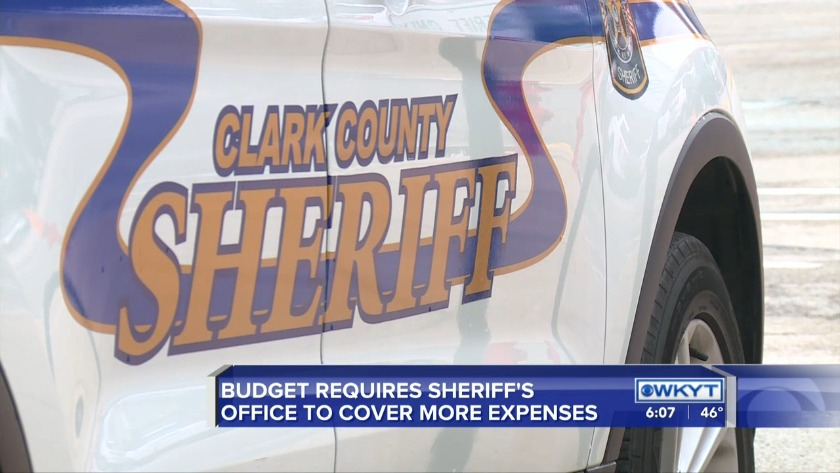 WATCH Clark County sheriff unhappy with proposed budget