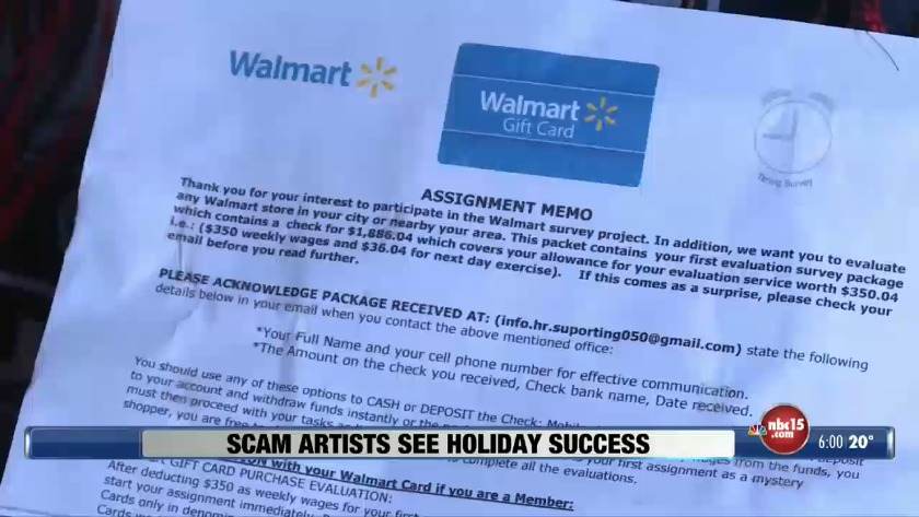 Scam artists see more success during holiday season