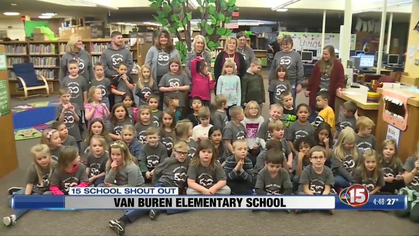 15 School Shout Out: Van Buren Elementary School